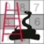 1888 Ladders & Snakes Board Game Icon