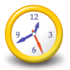 Alpha Clock Icon