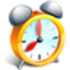 Atomic Alarm Clock Icon