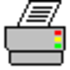 Fast Printer Chooser Icon