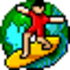 m9P Surfer Icon