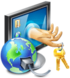 Network and Dial-up Password Revealer Icon