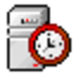 Network Time System Icon