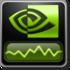 NVIDIA System Monitor Icon