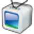 Online TV Player Icon