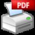 PDF Printer Icon