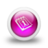 Pink Calendar and Day Planner Icon