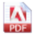 Simple PDF Merger Icon