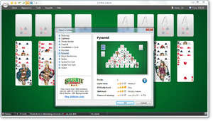 Card and Casino Games - Screenshot for 123 Free Solitaire