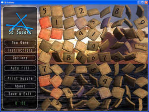 Puzzle Games - Screenshot for 3D SuDoku