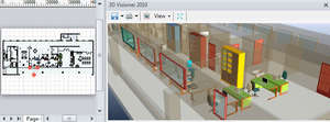 3D Visioner - 3D visualization addon for Microsoft Screenshot