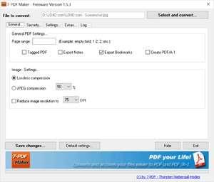 7 PDF Maker Screenshot