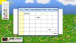 Education Software - Screenshot for ABC Timetable