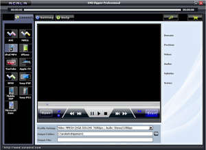 CD Rippers - Screenshot for Acala DVD Ripper Professional