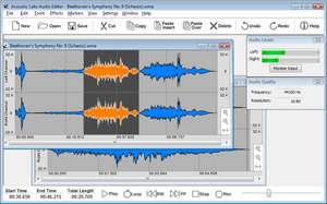 Acoustic Labs Professional Audio Editor Screenshot