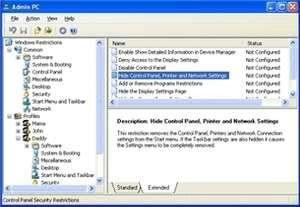 Admin PC Screenshot