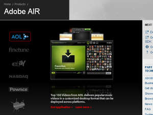 Install and Uninstall Tools - Screenshot for Adobe AIR