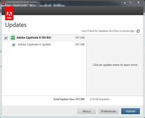 Adobe Application Manager Screenshot