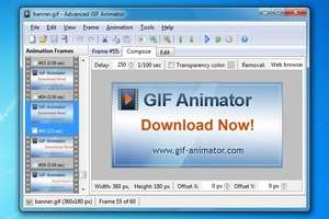 Adv GIF Animator Screenshot