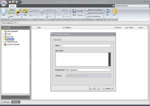 Advanced URL Catalog Screenshot