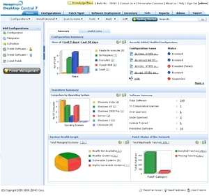 Adventnet ManageEngine Desktop Central Screenshot