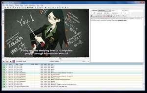 Aegisub Screenshot