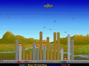 Arcade Games - Screenshot for Airstrike
