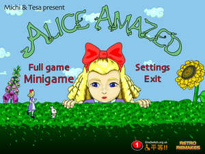 Adventure Games - Screenshot for Alice Amazed