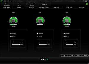 Drivers - Screenshot for AMD OverDrive