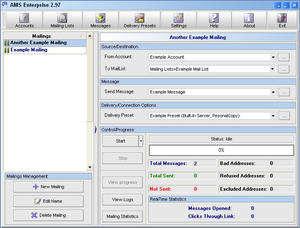 AMS Enterprise Screenshot