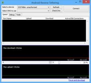 Mobile Phone Tools - Screenshot for Android Reverse Tethering