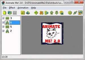 Animate Me! Screenshot