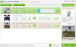 Any Audio Converter Freeware Screenshot