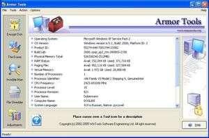 Armor Tools Screenshot