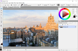 Image Manipulation Software - Screenshot for Artweaver Free
