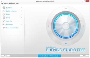 CD Burning - Screenshot for Ashampoo Burning Studio Free
