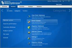 Ashampoo WinOptimizer Platinum 3 Screenshot