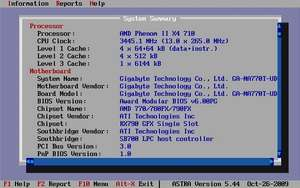 Advanced System Information Tool Screenshot