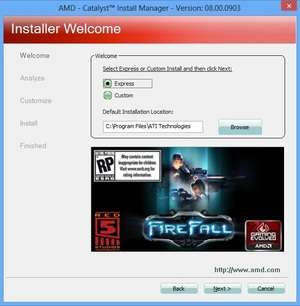 Drivers - Screenshot for ATI Radeon Display Driver