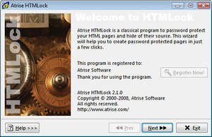 Atrise HTMLock Screenshot