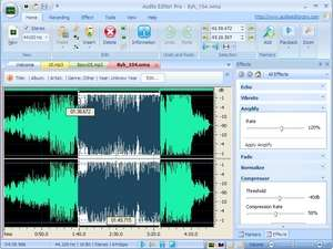 Audio Editor Pro Screenshot