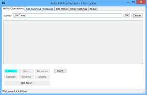 Process and Task Managers - Screenshot for Auto Kill Any Process