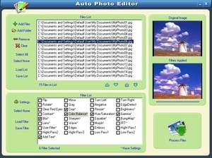 Auto Photo Editor Screenshot