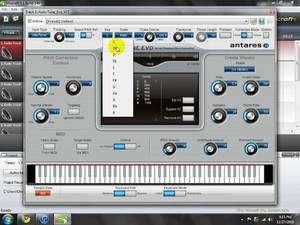 Auto-Tune Evo VST Screenshot
