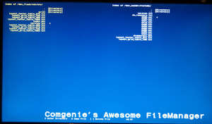 Playstation 3 - Screenshot for Awesome File Manager
