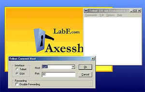 Axessh Screenshot