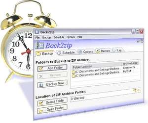 File Recovery Programs - Screenshot for Back2zip