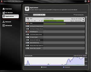 Network Auditing - Screenshot for Bigfoot Networks Killer Network Manager