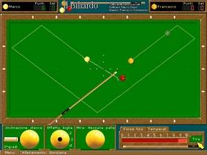 Sports Games - Screenshot for Biliardo