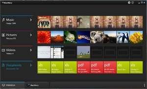 BlackBerry Link Screenshot